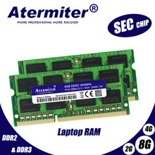 Chipset SEC original DDR3 4 GB 4 GB 1333 MHz 1600 MHz 1066 MHz 1333 PC3-10600S Memória para notebook 4G Laptop RAM SODIMM PC3 PC2 jogos