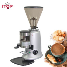 ITOP Commercial 350W Electric Coffee Grinder Beans Spices Nuts Seeds Milling Machine Coffee Bean Grinding Machine