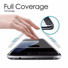 For Samsung Galaxy S9+ S7 Edge S7 S8 Plus Note 8 Pet soft Film Full Cover 3D Curved Round Edge 1pcs 80 Specialty Tools(China)