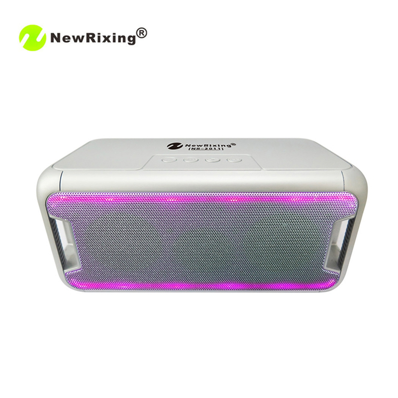 NewRixing NR-2011 Loudspeakers Bluetooth Handsfree Phones Talking Speakers Outdoors Portable TF Card USB Music Players Freeship