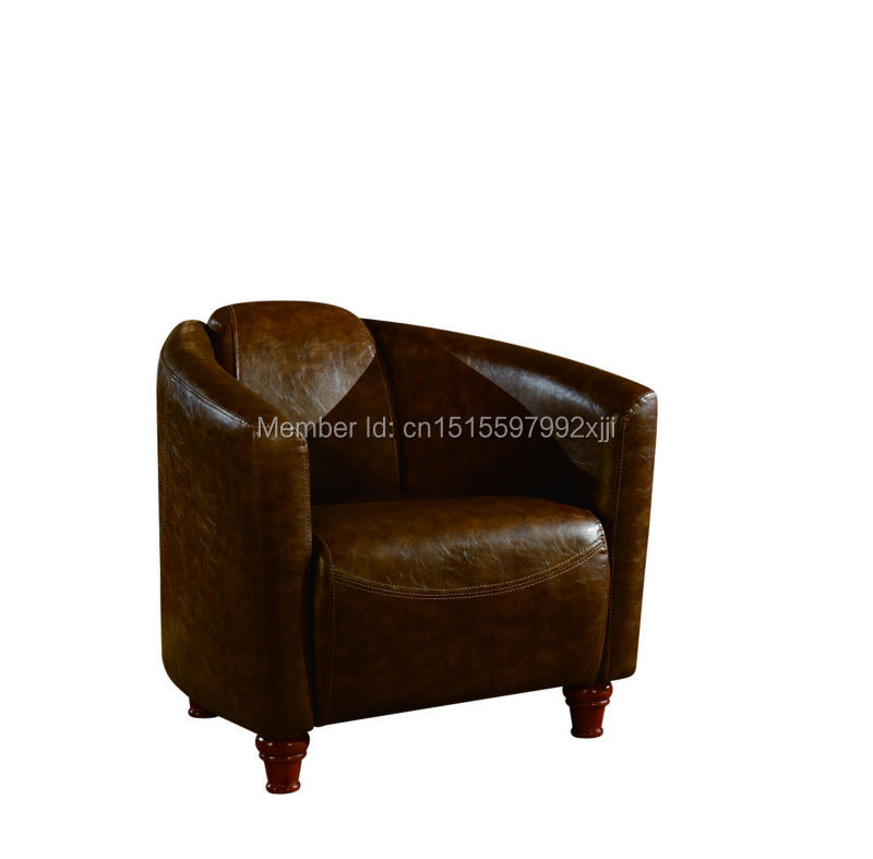 Muebles De Sala Muebles Direct Factory High Quality American Country Furniture Solid /single Sofa Chair/creative Leisure Chair