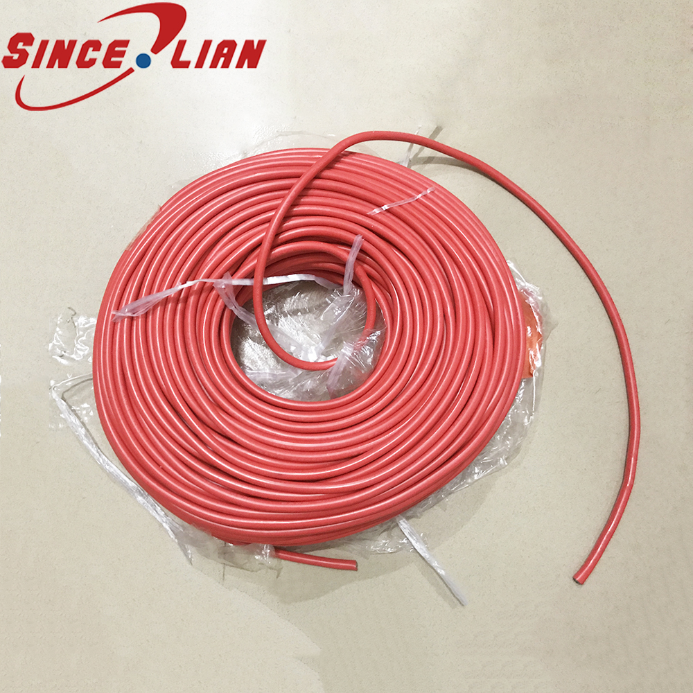 Original Silicone Rubber Wire AWG 5M 10M Cables Gauge Red Black Tinned Copper Wire Flexible Aviation wires 6 7 8 10 12 14AWG 14awg gauge silicone wire flexible stranded copper cables 5m for rc black red