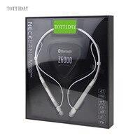 Roman Z6000 Wireless 4 1 Bluetooth Sport Headphone Neckband In Ear Stereo Earphone With Microphone Sweatproof