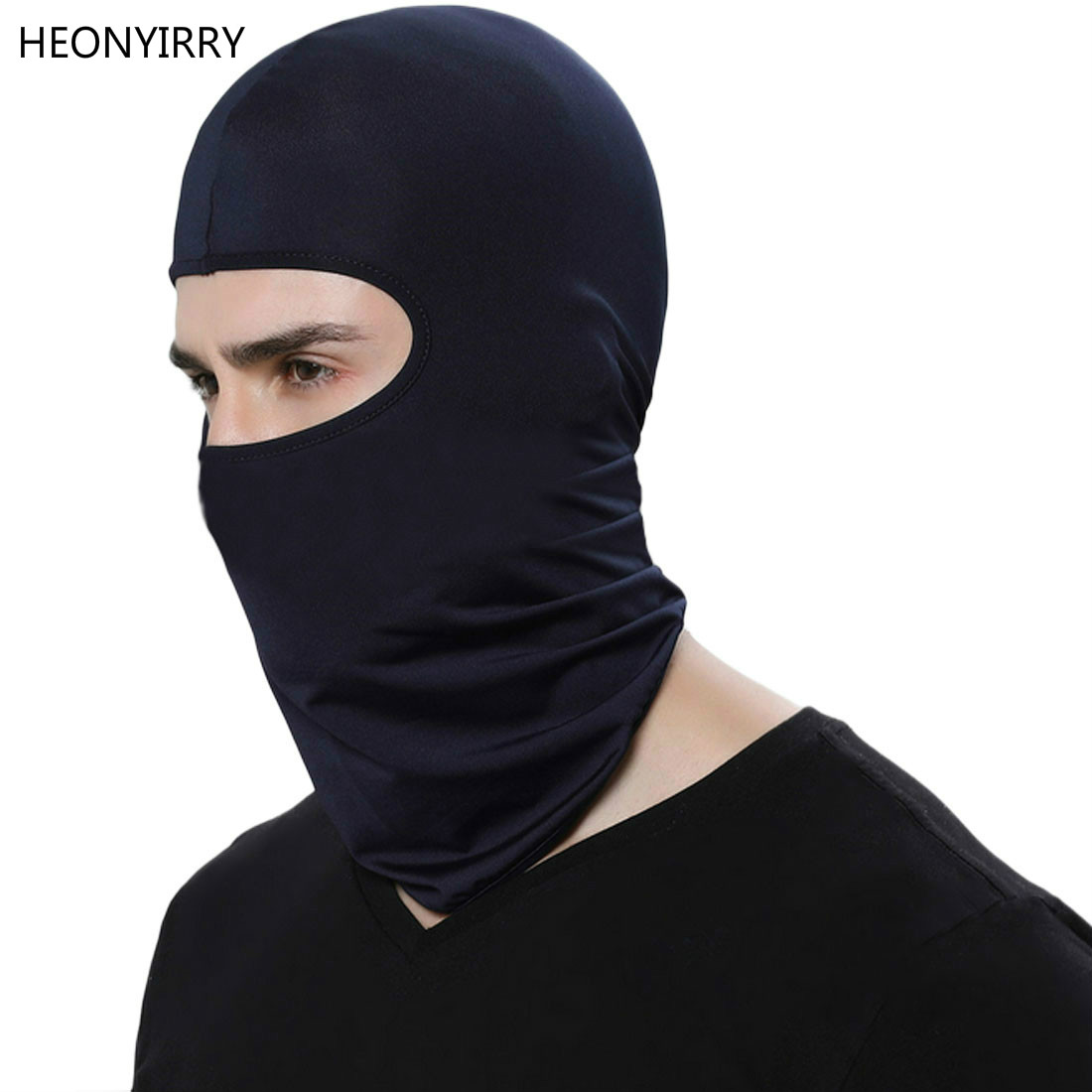 Hot Selling Motorcycle Face Mask Cycling Ski Neck Protecting Outdoor Balaclava Full Face Mask Ultra Thin Breathable Windproof(China)