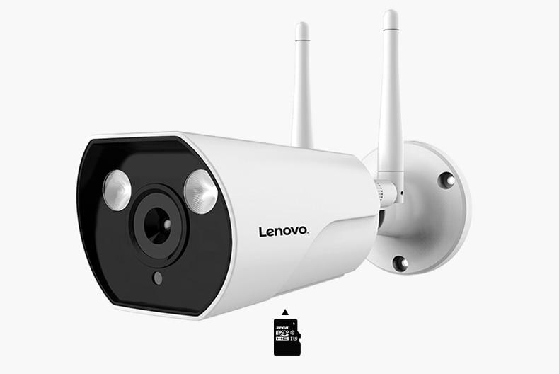 LENOVO IP Camera Wifi 1080P ONVIF Wireless Wired HD Waterproof WiFi IP Camera Surveillance Outdoor Camera Security Night Vision