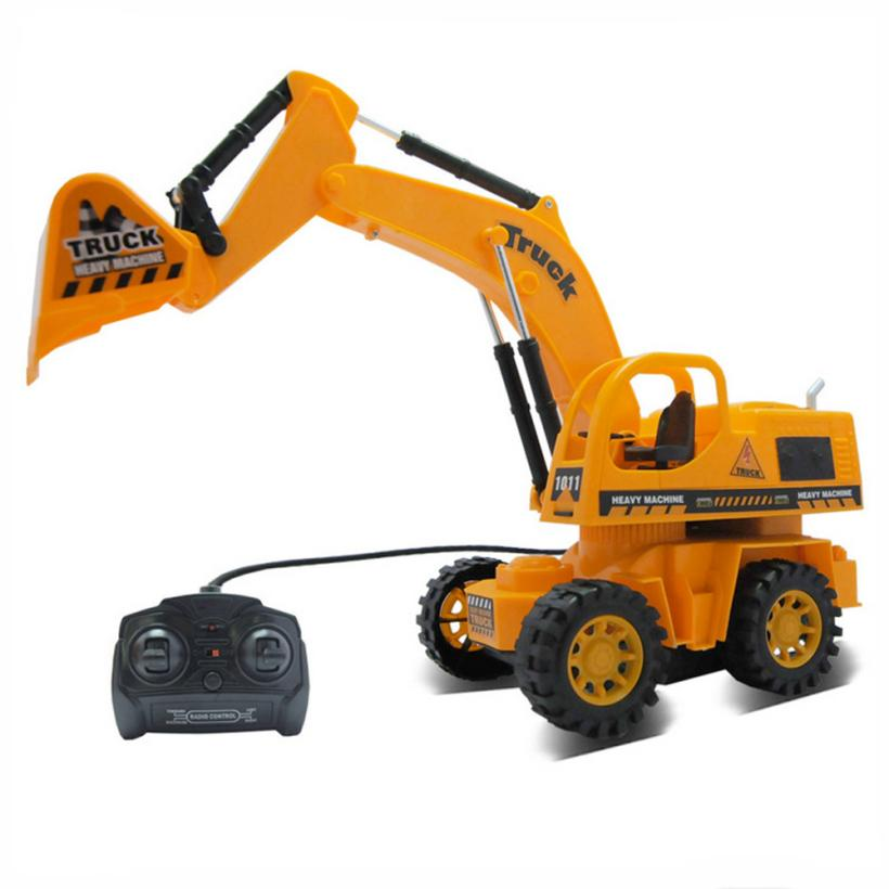Control Cable Car : Remote control car toy truck excavator cable
