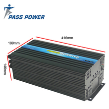 цена на CE&SGS&RoHS Approved 3000W/3kw 12V 220V Pure Sine Wave Power Inverter