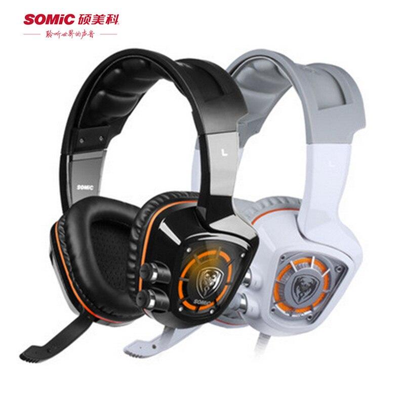 buy somic g910 usb 7 1 surround sound gaming headset with mic led light. Black Bedroom Furniture Sets. Home Design Ideas