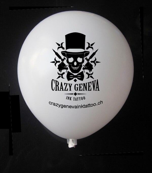 500 stücke 12 zoll dick Qualität personalisierte druck ballon angepasst ballon mit buchstaben text druck für Hochzeit geburtstag party-in Ballons & Zubehör aus Heim und Garten bei  Gruppe 1