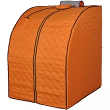 Portable Far Infrared Spa Sauna Weight Loss Negative Ion Detox Therapy Personal Room  Folding Chair