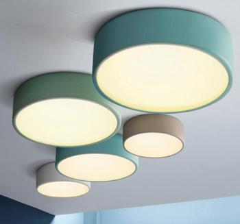 modern Nordic led Macarons pendant light restaurant Cafe bar Living room hanging lamp
