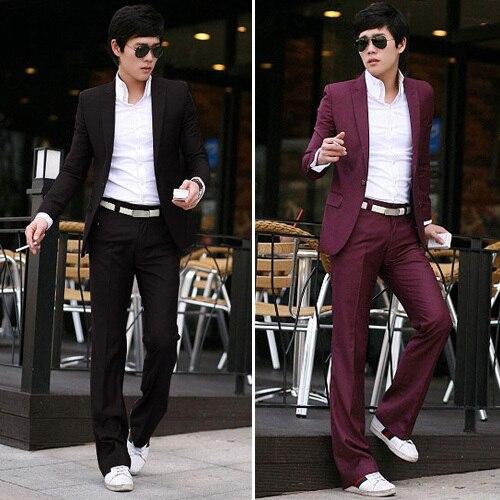 Fashion better man 2017 Slim Custom Fit Tuxedo Bridegroon Men Business Dress Blazer Suits,Fashion Suit Blazer, Jacket+Pants mens suits with pants