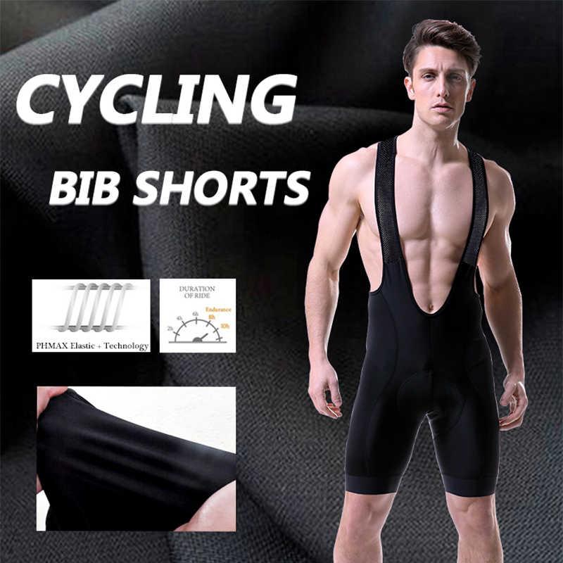 Ropa de ciclismo PHMAX Pro, conjunto de ropa de ciclismo para hombres, ropa de bicicleta transpirable Anti-UV, conjunto de Jersey de Ciclismo de manga corta para hombres