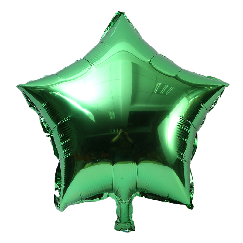 10pcs/lot 10 inch Five-Pointed Star Foil Balloon For Baby Shower And Wedding Decorations 3