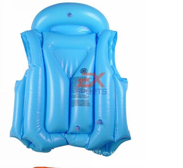 50x детский спасательный жилет Новые Детские Одежда заплыва помощь надувные плавающей Спасательный жилет для детей хорошее качество 3 цвета es1080-1
