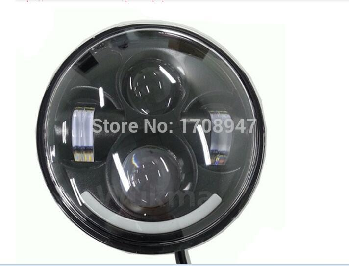 1pcs Reasonable price top quality good feedback of led headlight with half halo 5.6'' headlight led led headlight for Harley швейная машинка vlk napoli 2900