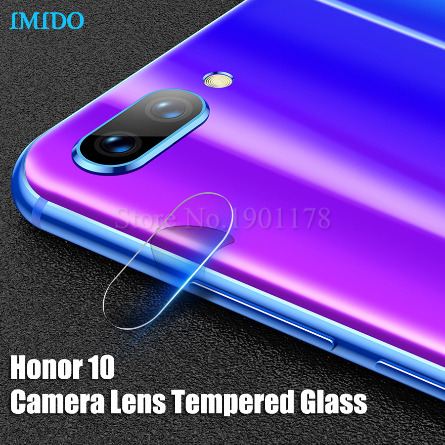 IMIDO Back Cover Camera Lens Tempered Glass For Huawei Honor 10 Camera Lens Screen Protector Honor 10 Glass