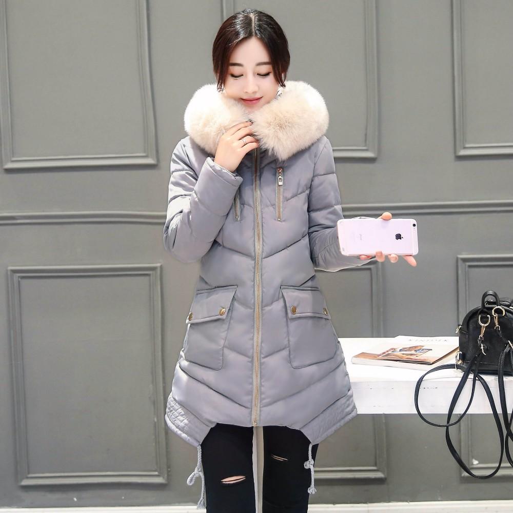 Winter Jacket Women Hooded Thick Coat For Womens Winter Jackets Outwear Parka Coatscasacos De Inverno Feminino Manteau 2016