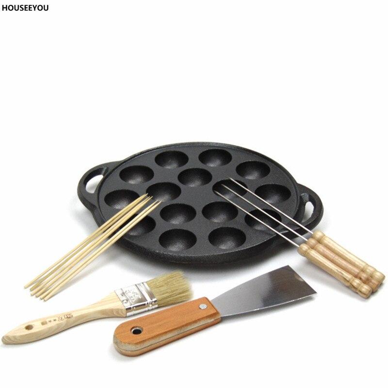 Cake Baking Pans Real Bakeware Baking Dish New For Octopus Barbecue Plate Burning Stove Takoyaki Board Cake Tools Pans