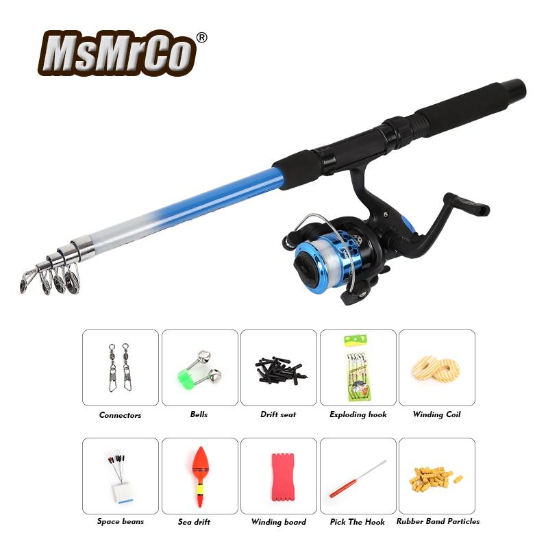 MsMrCo Top <font><b>Fishing</b></font> Set Accessories Gear 1.8m Fly <font><b>Fishing</b></font> Rod Line Wheel Sea Drift Space Beans Everything Carp for <font><b>Fishing</b></font> Tackle