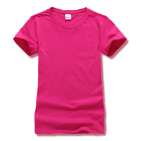 Leica Tshirt Women Tops Casual Solid Candy Color W ...