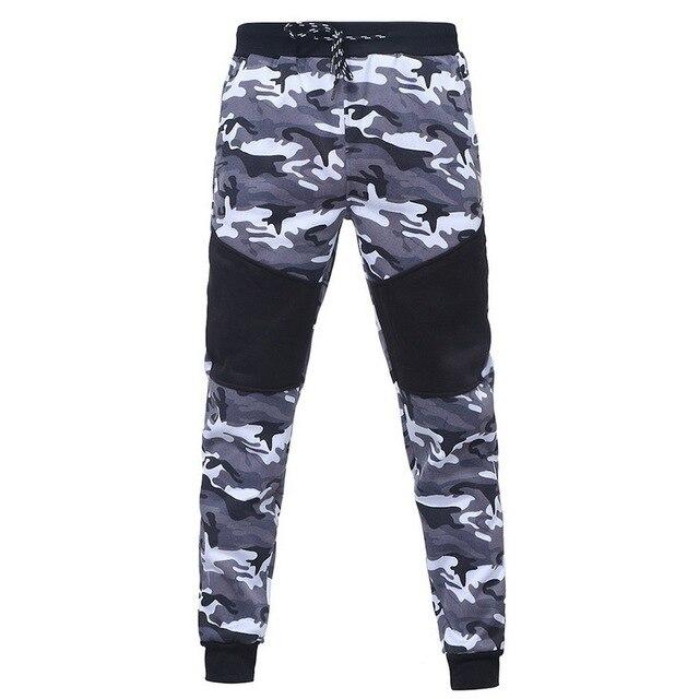2018 New Camouflage Printed Men Set Causal Patchwork Jacket Men 2Pcs Tracksuit Sportswear Hoodies Sweatshirt Pants Jogger Suit 4