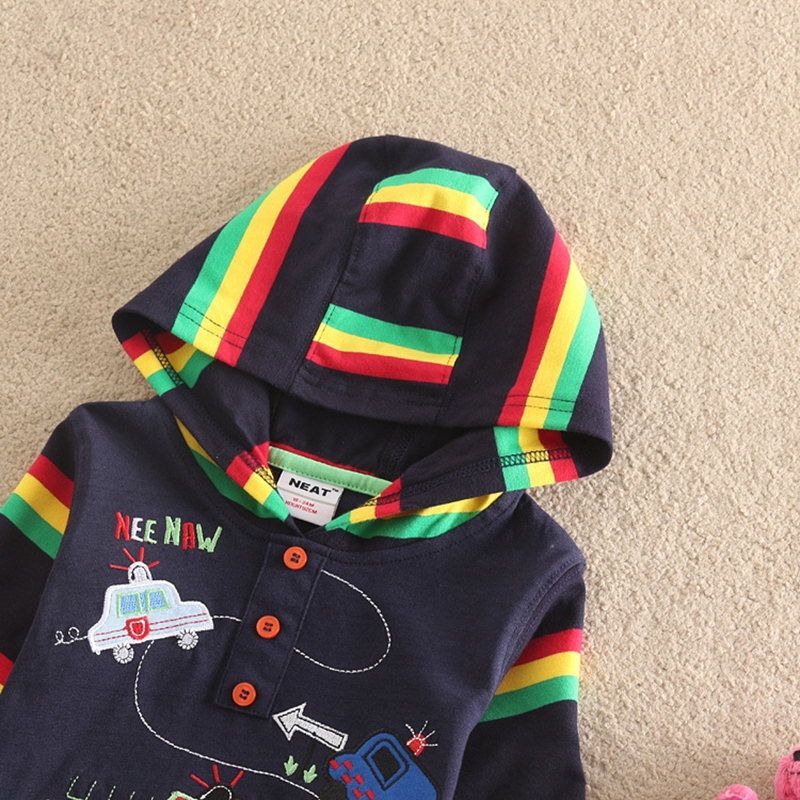 NEAT-2017-new-hat-sweater-handsome-sunspots-plus-colorful-striped-decoration-cartoon-car-pattern-casual-novel-style-L1008-1