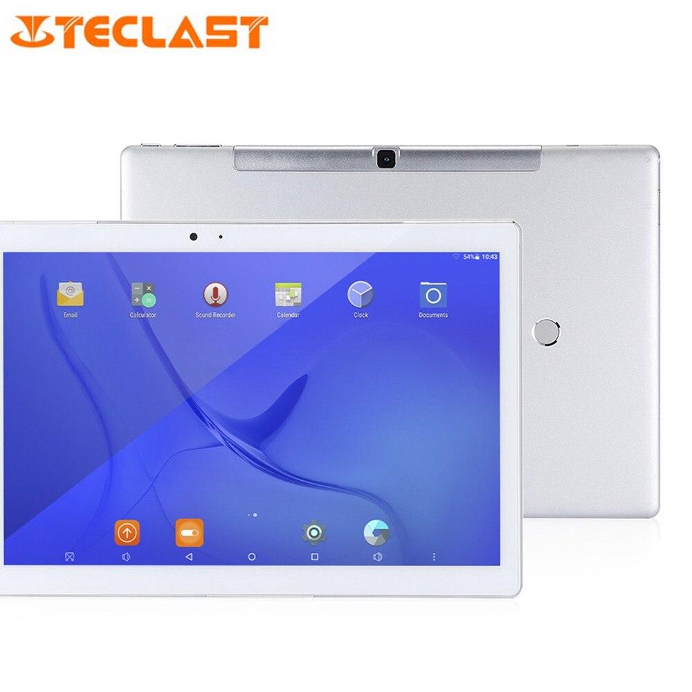 Teclast Mestre T10 10.1 polegada Tablet PC Android 7.0 MTK8176 Hexa Core 1.7 GHz 64 4 GB de RAM GB ROM sensor de impressão digital Dual WiFi OTG