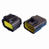 Black Waterproof Electrical Wiring ELECTRICAL WIRING Multi Connectors 2 3 4 6 PIN Size 10 Pin