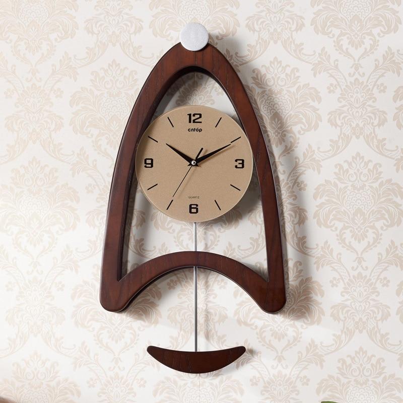 clock saat wall clock relogio de parede horloge murale reloj de pared relogio parede the living room bedroom creative pendulum