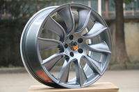 Four pieces 20x8.5 et 35 5x114.3 OEM Gunmetal Machined Face Alloy Wheel Rims W409 For Your Car