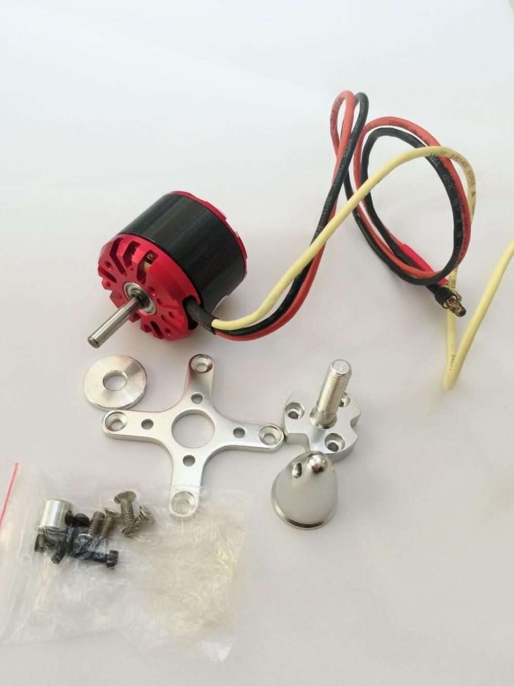 En venta EMP RC motor 3536 KV1200 con eje de 4mm outrunner Motor DC sin escobillas para RC Avión RC drone