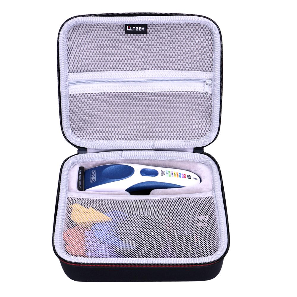 LTGEM EVA Waterproof Waterproof Hard Case For Wahl Color Pro Cordless Rechargeable Hair Clippers Hair Trimmers 9649