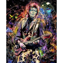 Diamond Painting David Bowie Art Ziggy Stardust Original Mosaic Full Round Embroidery Rhinestone Picture
