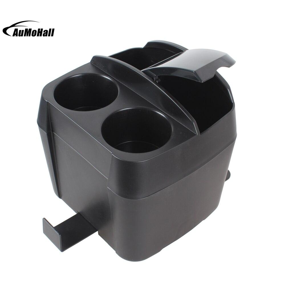 Multifunzione 3 in 1 Nero Auto Supporto di Tazza di Bevanda Bottiglia Può Spazzatura Pattumiera Del Tessuto Clip