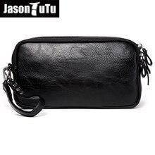Джейсон пачка 2019 новый список Повседневное мужская кожаная сумка клатч кошельки кошелек унисекс Для женщин сумки телефона Bolsas Бесплатная доставка B532