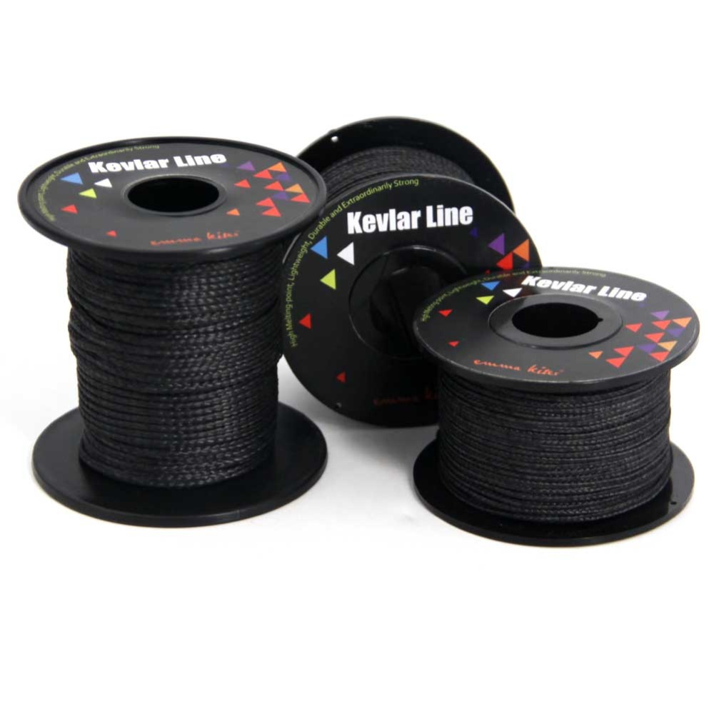 купить 100lb-700lb Kite Line Braided Kevlar Fishing Line Kite String for Single Line Kite Kids Toy Gift Camping Hiking Cord
