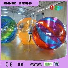 Бесплатная доставка 2м воды бурлящий шарик Раздувной воды Гуляя шары воды шары гигантский Раздувной Анти стресс мяч