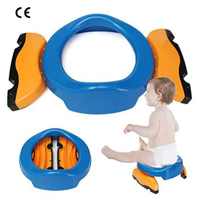 CE Baby Toilet Stool Portable Travel Car Baby Potty Seat Outdoor Toilet Training Baby Toliet Seat Cover Training Potty Boys Girl цена