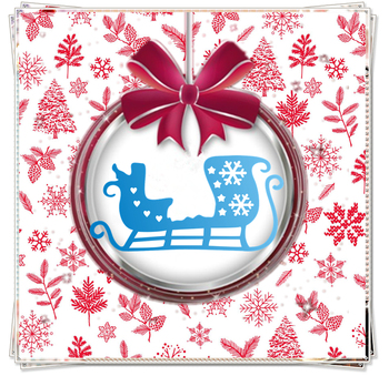 PANFELOU The sled metal craft paper die cutting dies hot sale Scrapbooking/DIY New year Easter Embossing mould image