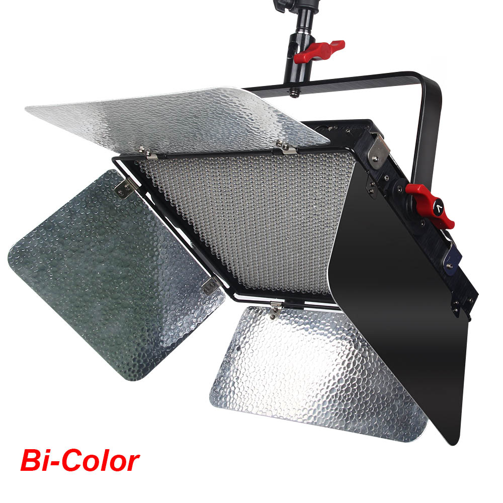 Aputure Photography Light LS 1c Studio 1536 Led Bi-Color Dimmable CRI95+ Video Light Panel with Sturdy Metal Bracket for Hanging falcon eyes 100w dimmable lcd studio light lp 2005tdx2 140w video light cri95 with dmx system professional led light lp 2805td
