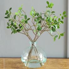 3pcs Artificial Flower Natural Green Leaf Milan Plant Holly Leaves Garland Fake Home Party Wedding Decoration Garden Decor