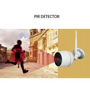 Image 3 - Wetrans אבטחת CCTV המצלמה מערכת HD 1080 P Wifi מיני NVR ערכת מעקב וידאו בית IP אלחוטי סט אודיו חיצוני