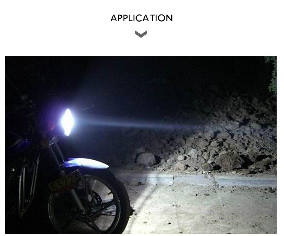 VooVoo H4 LED Motorcycle Lights BA20D LED Moto Headlight Bulbs 2400LM 6000K 20W HS1 Led Motorbike Electric Car Headlamp Lighting (14)