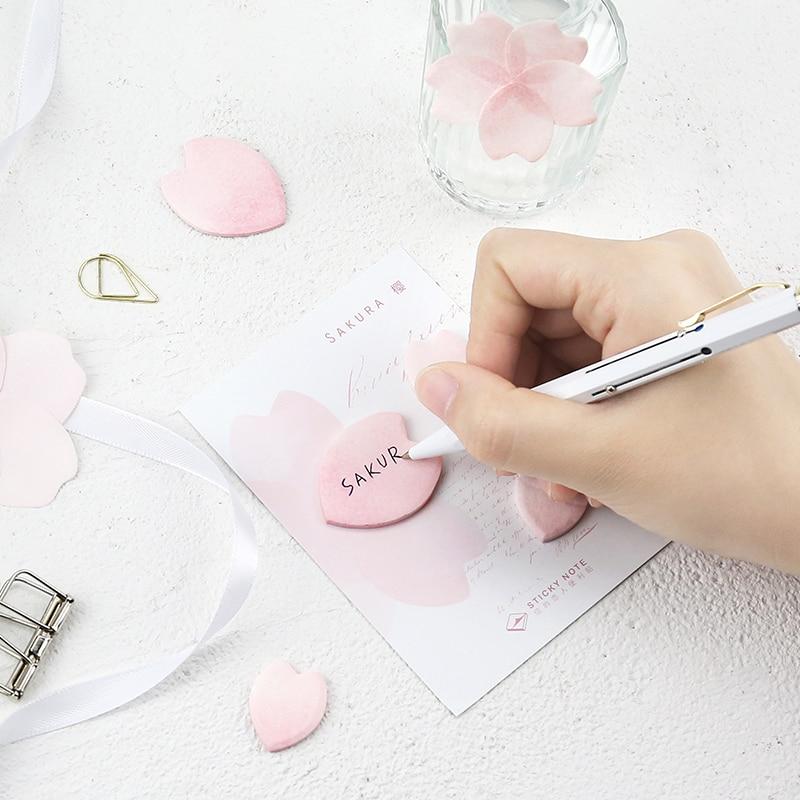 4 ədəd / Çox mini Yonca yarpaq stikeri gündəliyi Çiçək Sakura - Qeyd kitabçaları - Fotoqrafiya 3