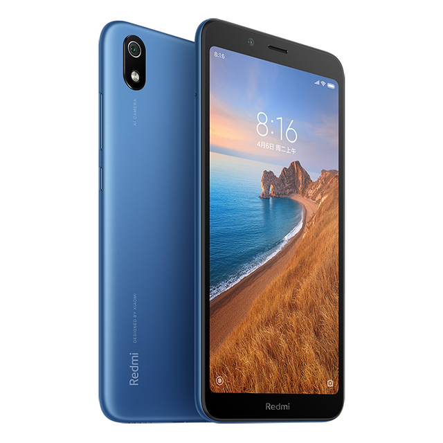 "Global Version Xiaomi Redmi 7A 7 A 2GB 16GB 5.45"" Snapdargon 439 Octa core Mobile Phone 4000mAh 12MP Camera Smartphone 5"