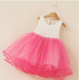 2015 New Flowers Dress For Girls For Wedding and Party Summer Baby Clothes Princess Party Kids Dresses For Girl Infant Costume hot summer flower girls dress for wedding and party infant princess girl dresses toddler costume baby kids clothes