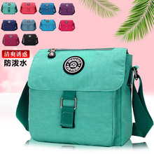 New waterproof casual womens nylon messenger bag shoulder Japanese and Korean travel
