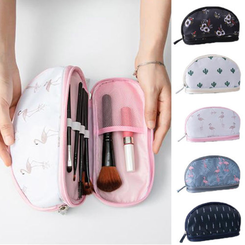 Brand New Style Cosmetic Makeup Bag Toiletry Wash Travel Organizer Purse Make Up Case Cosmetic Bags