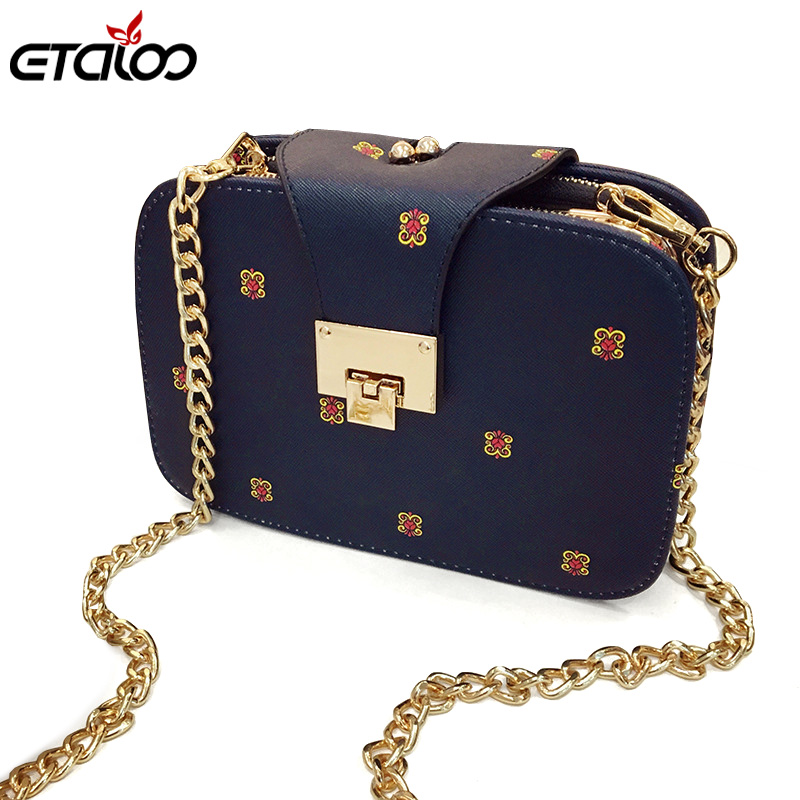 Fashion Chain Leather Women Shoulder Bags Solid Lock Messenger Crossbody Bag Small Ladies Handbags Bolsa Small Bags antbook women chain messenger bags fashion new female solid small shoulder bags jelly small lock crossbody bag for women bags